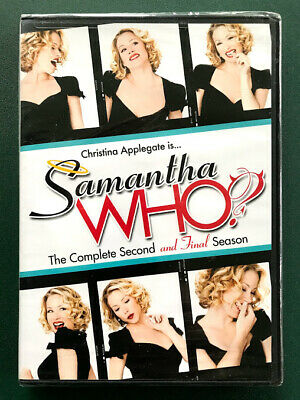 Samantha Who?, Season Two, FACTORY SEALED, MINT, 3 DVDs, FREE SHIP, Ohio seller