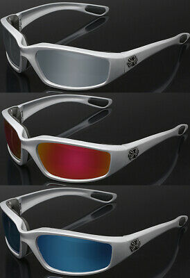 367fc3761c 3 PAIR COMBO Silver Choppers Wind Resistant Padded Motorcycle Riding  Sunglasses