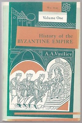 history of the bizantine empire Volume 1 And 2 .A.A Vasiliev.
