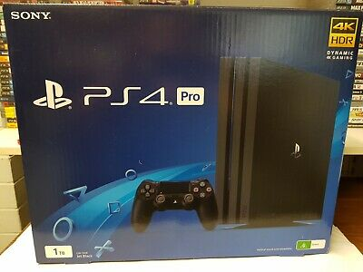 PS4 playstation 4 Pro Packaging Box With Inserts • Same Day Post From Brisbane