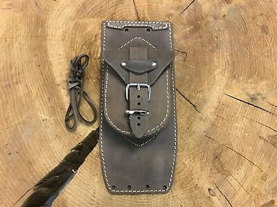 Tankpad Fatboy Heritage Fat Boy Deluxe Classic Springer Harley Leather Bag New