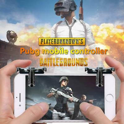 Controller Mobile Phone Shooter Gaming Trigger Gamepad Fire Button Handle PUBG.