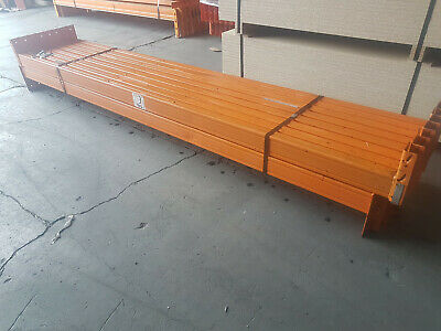 USED PALLET RACkING BEAMS 2591mm LONG DEXION COMPATIBLE