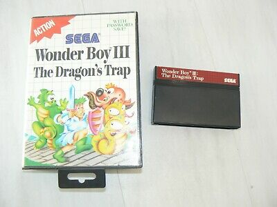 Wonder Boy III: The Dragon's Trap (Sega Master, 1989), Original Ships Free FAST