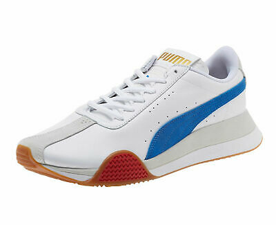 59f8741344 PUMA - TURIN 0 - 367794 01 - Men s Casual Athletic Shoes - WHITE BLUE - Size