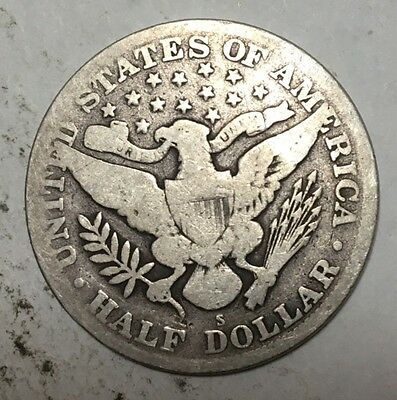 1915-S Barber Half Dollar Coin