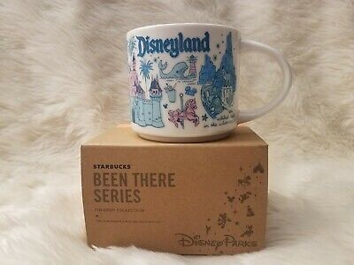 *FULL SIZE* Starbucks Disneyland Disney Parks BEEN THERE SERIES Mug Pin Drop