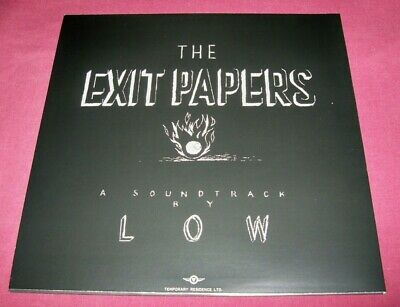 """Songs by LOW The Exit Papers - 12"""" LP VINYL Temporary Residence TRR276 2016, VG+"""