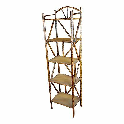 19th century Original Victorian 5 tier Bamboo bookstand