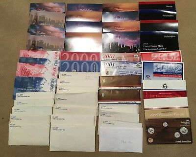 mint set lot Uncirculated Coins United States