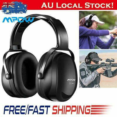 MPOW Noise Reduction Safety Ear Muffs Adjustable SNR 36dB Shooting Hunting Muffs