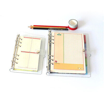 A5/A6/A7 Notebook Cover Leaf Ring Binder Weekly Planner DIY Gift Useful Durable