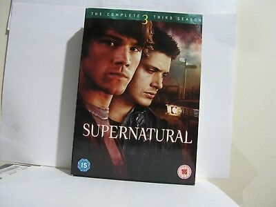 Supernatural - The Complete Third Season [2008] (DVD)