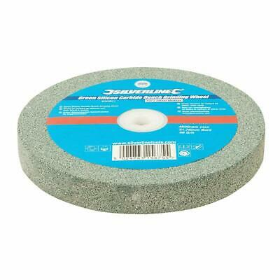 Silverline 836851 Green Silicon Carbide Bench Grinding Wheel 150 x 20mm Medium