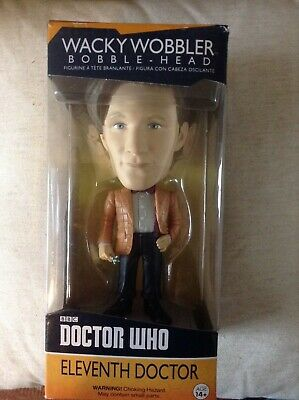 Action- & Spielfiguren DOCTOR WHO TENTH DOCTOR 6 WACKY WOBBLER VINYL FIGURE BOBBLE-HEAD FUNKO
