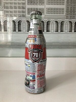 70 Anniversary Marca legend. Very Rare Coca Cola Bottle