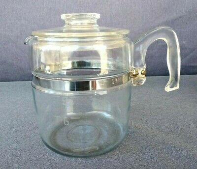 Vintage Pyrex Glass Percolator Coffee Pot 9 Cup Maker 7759 Replacement Only