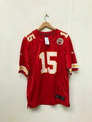 Kansas City Chiefs Nike NFL Men's Home Jersey - Large - Mahomes 15 - Red - New