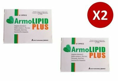 Armolipid PLUS 60 compresse - Integratore CONTROLLO COLESTEROLO - 2 CONFEZIONI