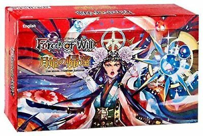 Force of Will FOW TCG The Moon Priestess Returns 36 Pack Booster Box NEW SEALED