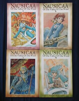 Hayao Miyazaki's Nausicaa of the Valley of the Wind, Viz Media Vol. 1-5, PB