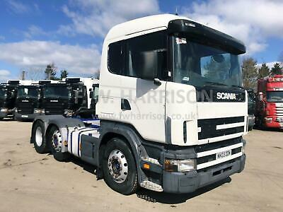 2003 Scania 124 420 6X2 Mid Lift And Steer, Standard Sleeper Cab