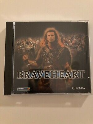 Braveheart PC CD 1999 3D **RARE** Vintage Classic Real Time Strategy Game EIDOS