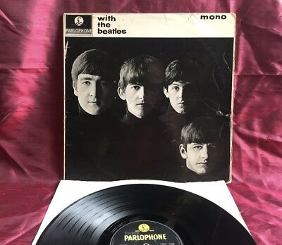 The Beatles - With The Beatles - LP - 1963 - UK Press - Mono