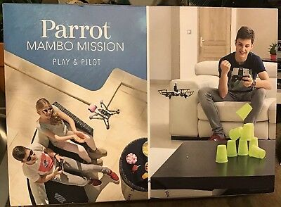 PARROT MAMBO MISSION Play& Pilot Aerial Snapshot-3 Piloting Modes NEW SEALED BOX