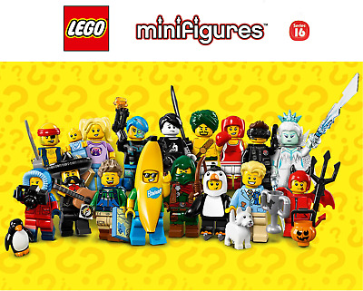 Pick your own! 🍌 LEGO Collectable 🐧 Minifigures Series 16 71013