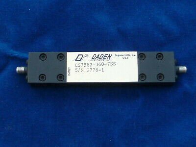 Daden Associates Bandpass Filter Model CS7582