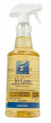 eZall It's Gone Adhesive Remover, 32-Ounce