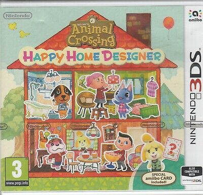 Animal Crossing Happy Home Designer (Nintendo 3DS) Brand new and sealed
