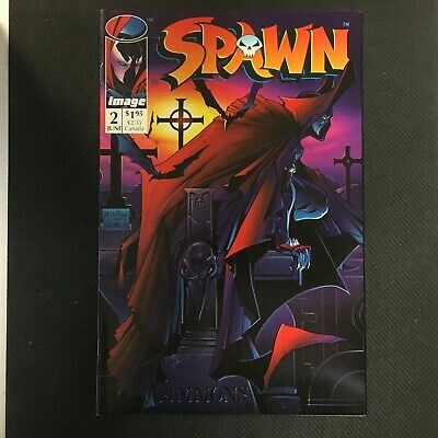 Spawn #2 1St Violater Nm 9.4 Or Better