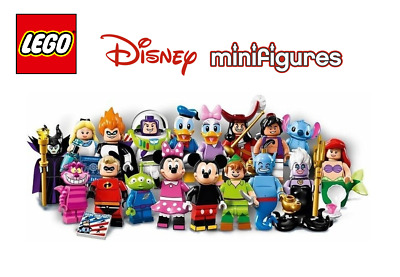 Pick your own Minifigure LEGO 71012 Disney Minifigures 💗 Mickey Donald Alice
