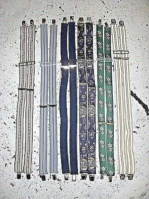 Vintage Wholesale Lot Braces/ Suspenders Mix x 25