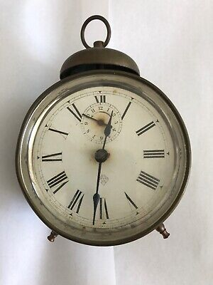 Antique Brass Ansonia alarm clock