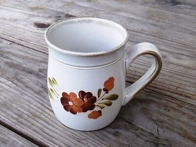 Denby Stoneware Floral Coffee Cup Mug Made in England