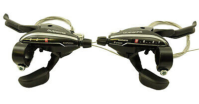 Shimano St-Ef65-8 Ezi Fire Sti Shifters 24 Speed With Integrated Brake Levers