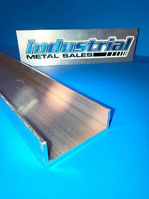 "3"" x 1"" x 24""-Long x 1/8"" Thick 6061 T6 Aluminum Channel --->3"" Wide Channel"