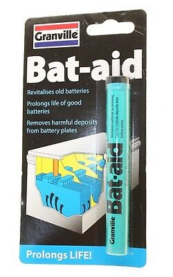 Granville Battery Aid Bat-Aid Revitalizes  Batteries Power To The Battery New
