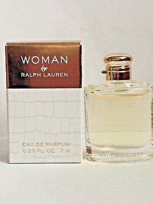 WOMAN by Ralph Lauren Eau De Parfum Mini Perfume 0.23oz / 7ml NEW IN BOX