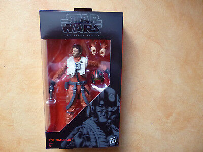 Figurine star wars black serie Poe Dameron