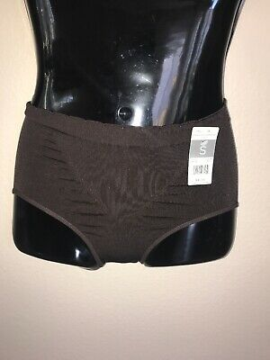 Marilyn Monroe Brown  Seamless Shaping Brief Panty Sissy Knickers Size 5/small