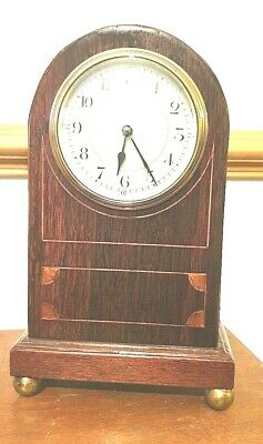 ANTIQUE FRENCH CLOCK IN A Rosewood CASE HIGH C.1890   ARCH Tops  8 Day