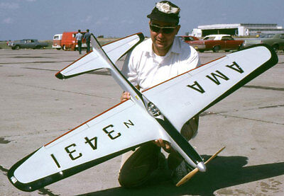 """Model Airplane Plans .40 Midwest P-40 Warhawk 48/"""" Profile for .29 UC"""