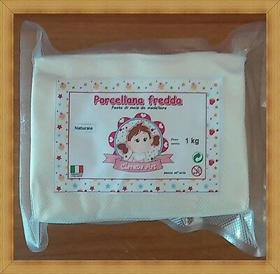 PORCELLANA FREDDA made in italy pasta di mais da modellare 250g