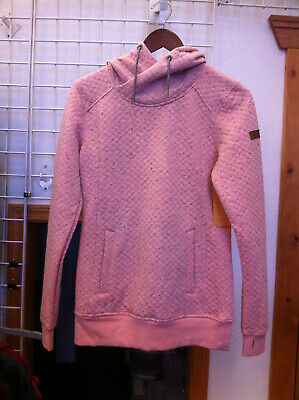 Women's Roxy Dipsy Hoodie color Coral Cloud size x-small xs