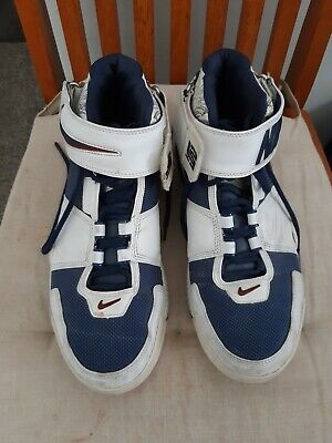 check out 2fa69 b956c Nike Air Zoom LeBron II Two Generation James size 11 OG Original 2005 Navy  White