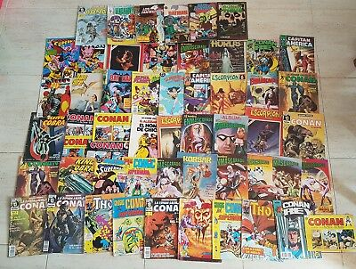 Gran Lote Comic 54 Comics Vertice Marvel Forum Conan Batman Los Vengadores Super
